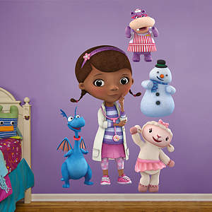 Doc McStuffins Collection Fathead Wall Decal